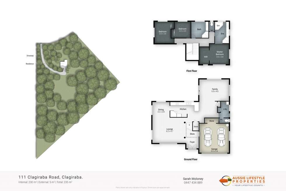 Floorplan of Homely house listing, 111 CLAGIRABA, Clagiraba QLD 4211