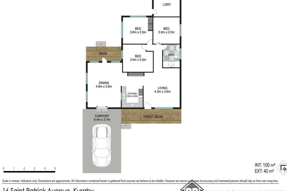 Floorplan of Homely house listing, 16 St Patrick Avenue, Kuraby QLD 4112
