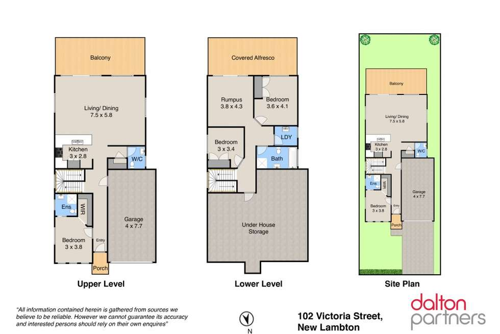 Floorplan of Homely house listing, 102 Victoria Street, New Lambton NSW 2305
