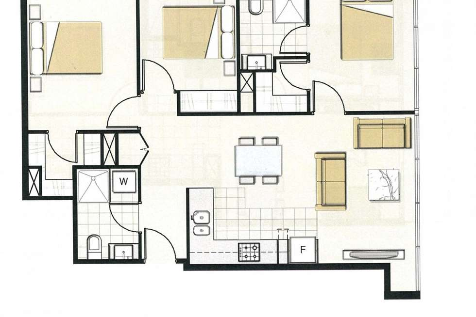 Floorplan of Homely apartment listing, 706/5 Sutherland Street, Melbourne VIC 3000