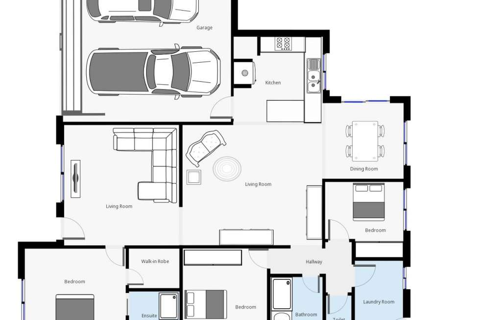Floorplan of Homely house listing, 4 Ellora Court, Lavington NSW 2641