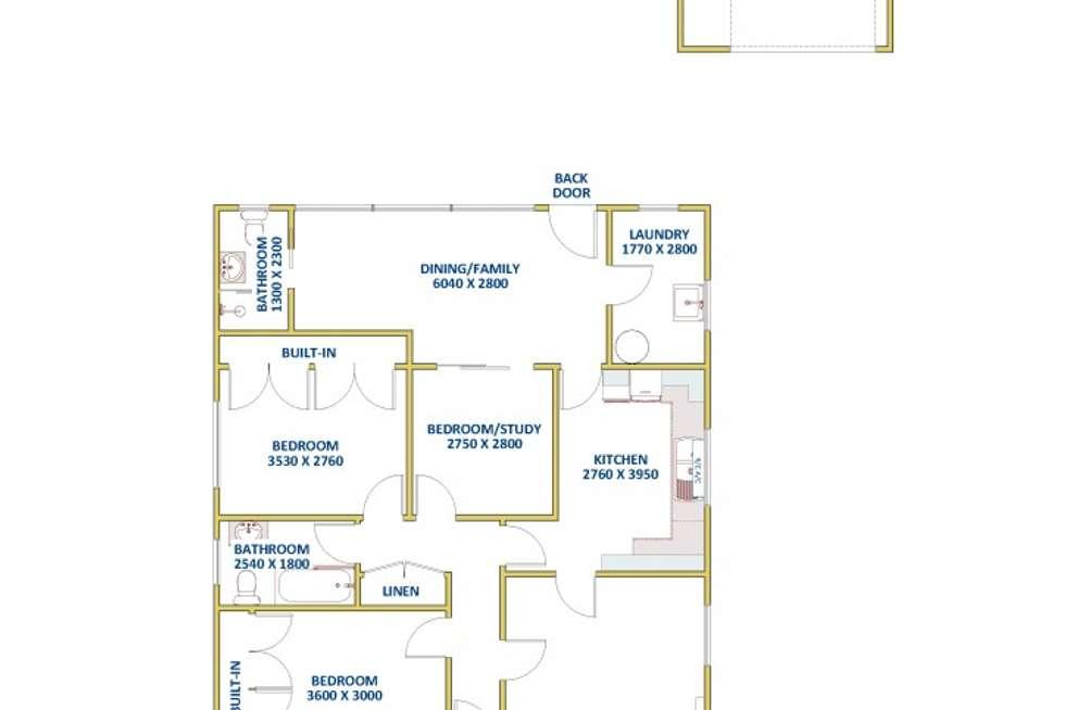 Floorplan of Homely house listing, 24 Waller Street, Shortland NSW 2307