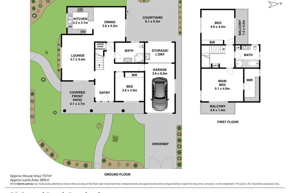 Floorplan of Homely house listing, 32 Consul Road, Brookvale NSW 2100