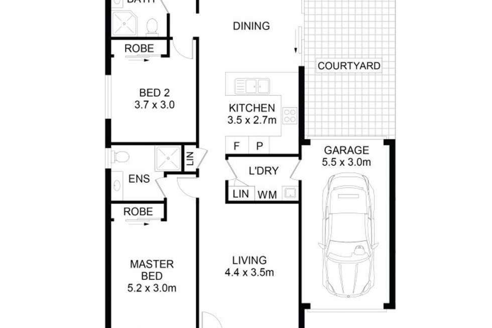Floorplan of Homely house listing, 11 Drayton Street, Stanhope Gardens NSW 2768