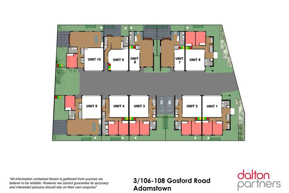 Floorplan of Homely townhouse listing, 3/106-108 Gosford Road, Adamstown NSW 2289