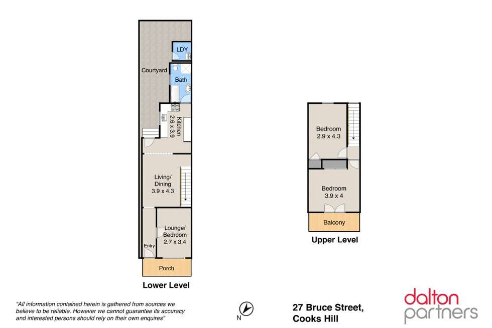 Floorplan of Homely house listing, 27 Bruce Street, Cooks Hill NSW 2300
