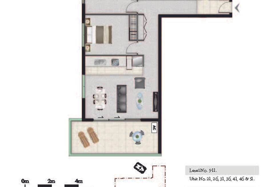 Floorplan of Homely apartment listing, 41/27 Manning, Milton QLD 4064