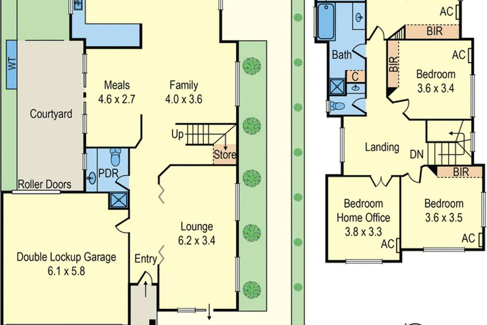 Floorplan of Homely house listing, 48 Charman Road, Mentone VIC 3194