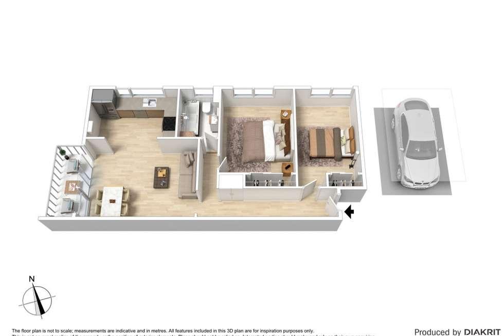 Floorplan of Homely apartment listing, 4/49 Wilson Street, Cheltenham VIC 3192