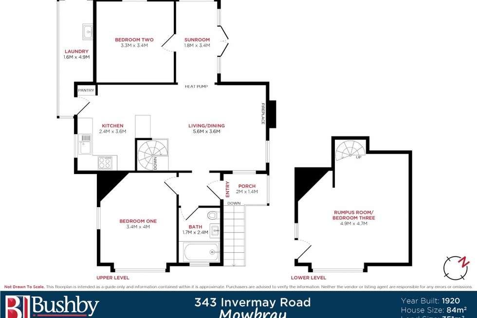 Floorplan of Homely house listing, 343 Invermay Road, Mowbray TAS 7248