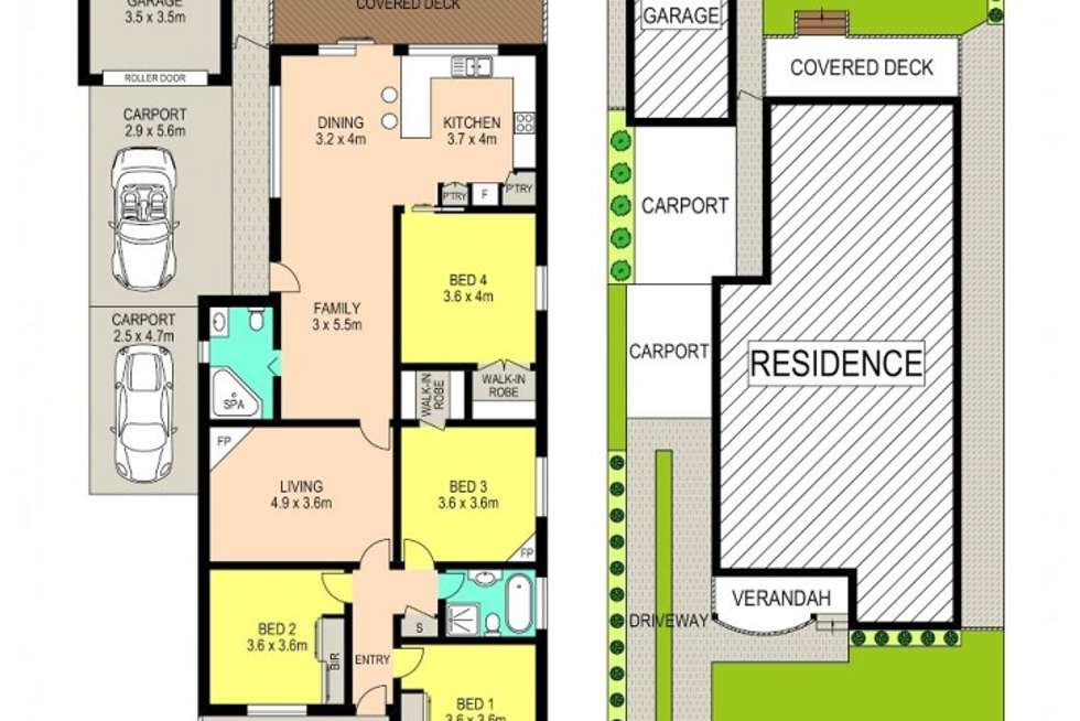 Floorplan of Homely house listing, 13 Hartland Street, Northmead NSW 2152