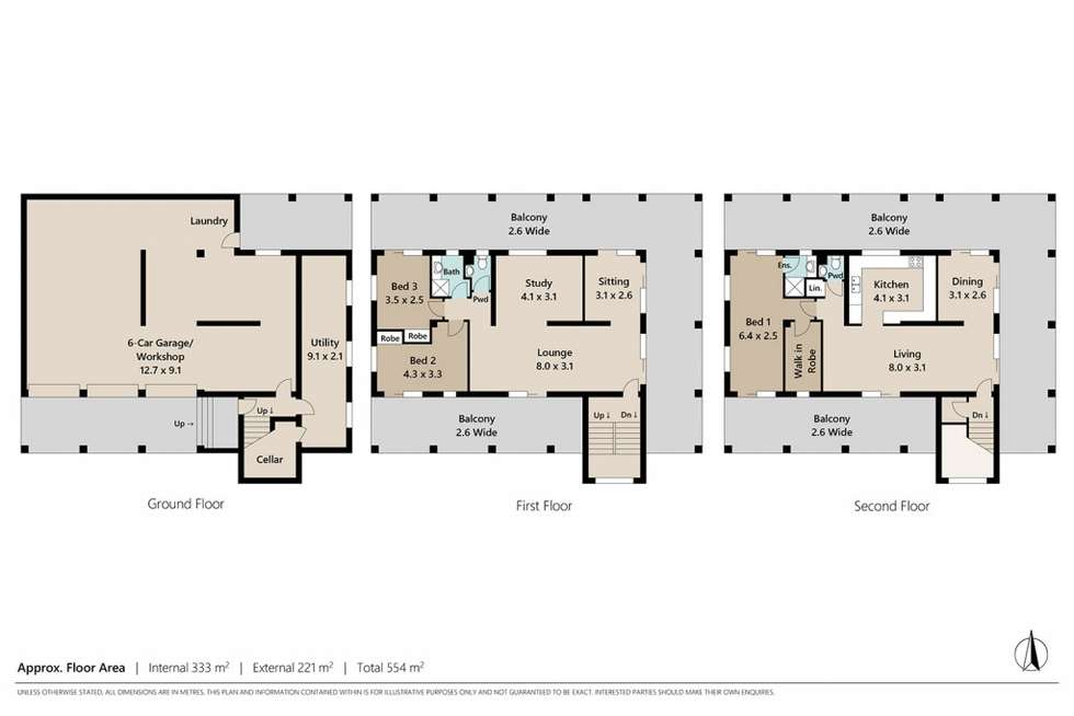 Floorplan of Homely house listing, 27A Musgrave Street, Toowong QLD 4066