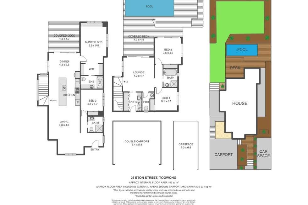Floorplan of Homely house listing, 26 Eton Street, Toowong QLD 4066
