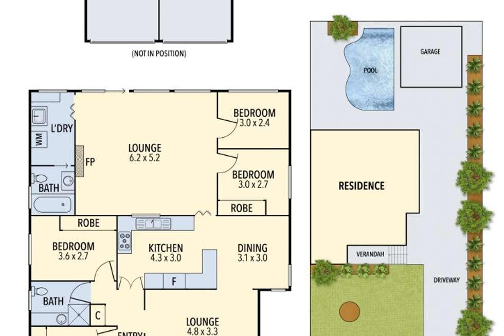 Floorplan of Homely house listing, 24 Ula Crescent, Baulkham Hills NSW 2153
