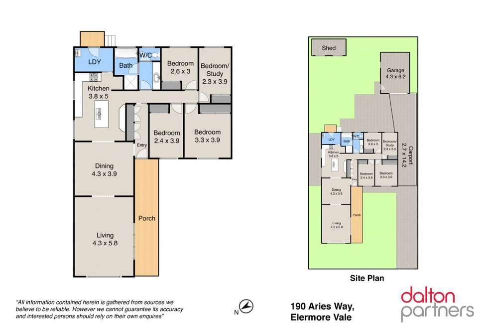 Floorplan of Homely house listing, 190 Aries Way, Elermore Vale NSW 2287