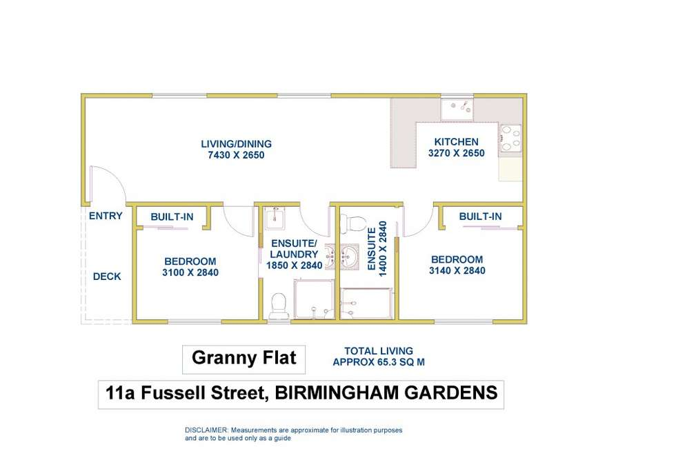 Floorplan of Homely house listing, 11a Fussell Street, Birmingham Gardens NSW 2287