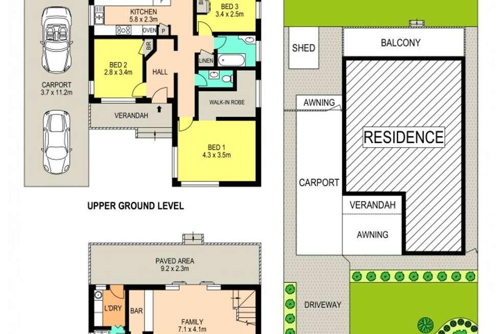 Floorplan of Homely house listing, 19 Selkirk Street, Winston Hills NSW 2153