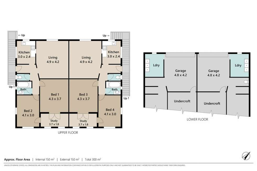 Floorplan of Homely house listing, 112 Central Avenue, St Lucia QLD 4067
