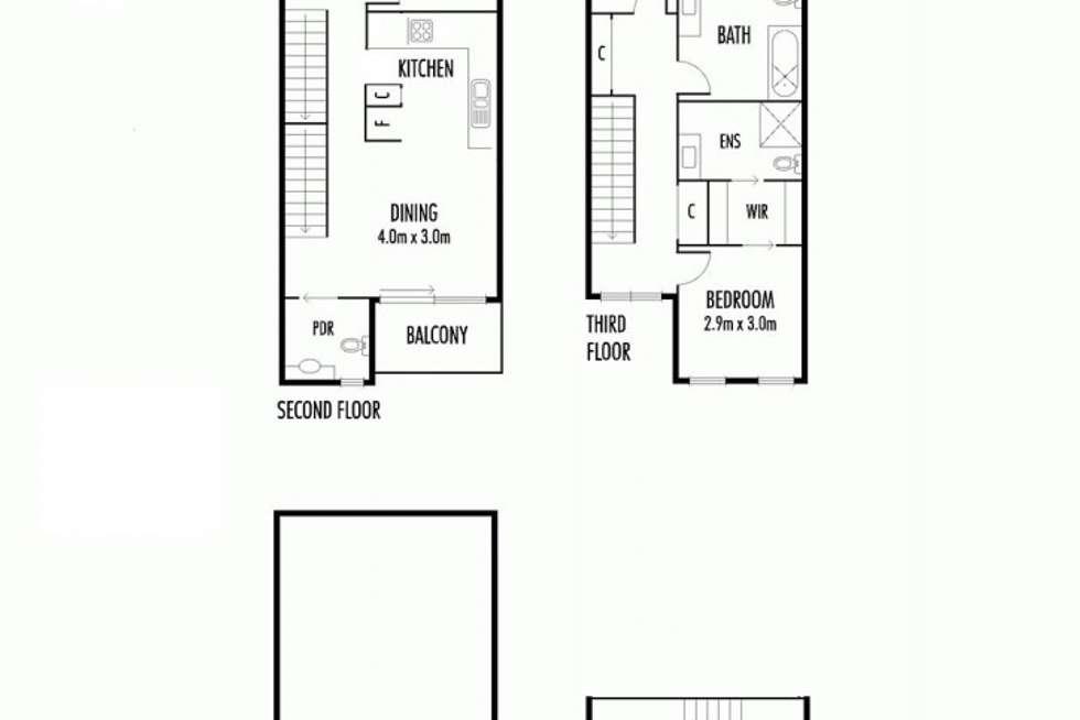 Floorplan of Homely townhouse listing, 5/51 Stockade Avenue, Coburg VIC 3058