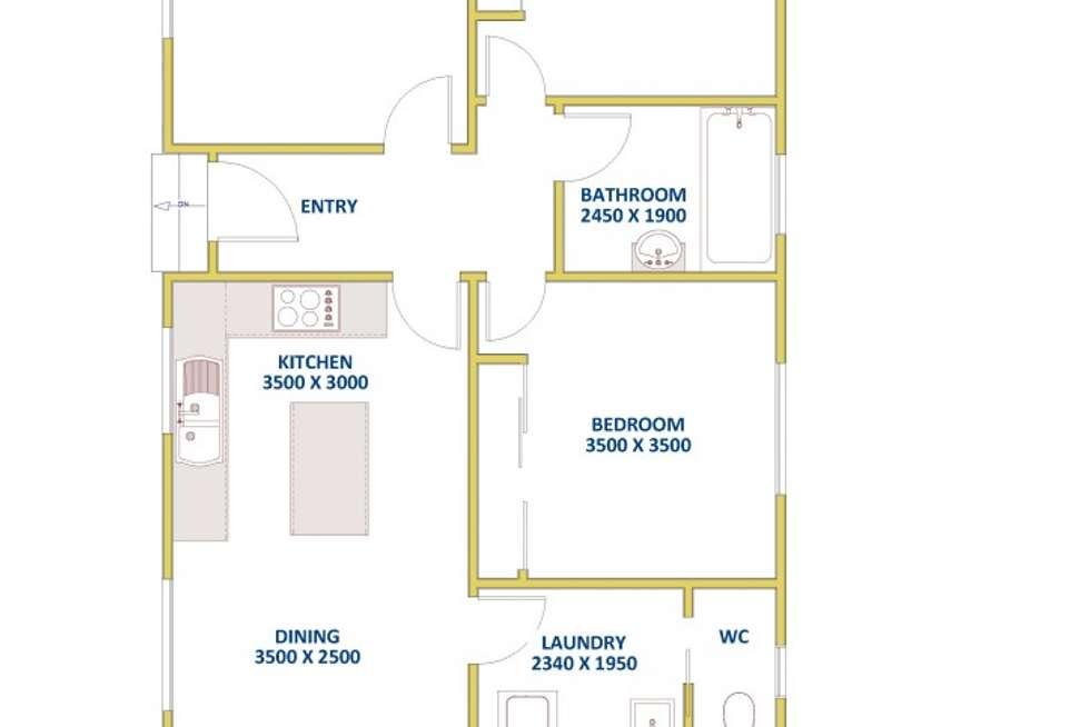 Floorplan of Homely house listing, 32 Lee Crescent, Birmingham Gardens NSW 2287