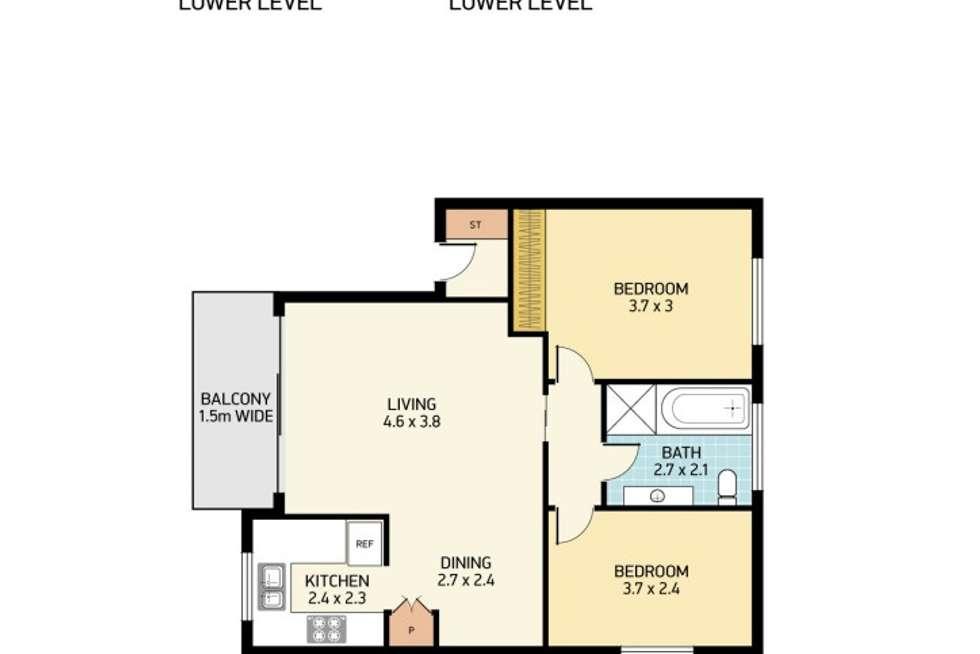 Floorplan of Homely apartment listing, 8/106 Regent Street, New Lambton NSW 2305