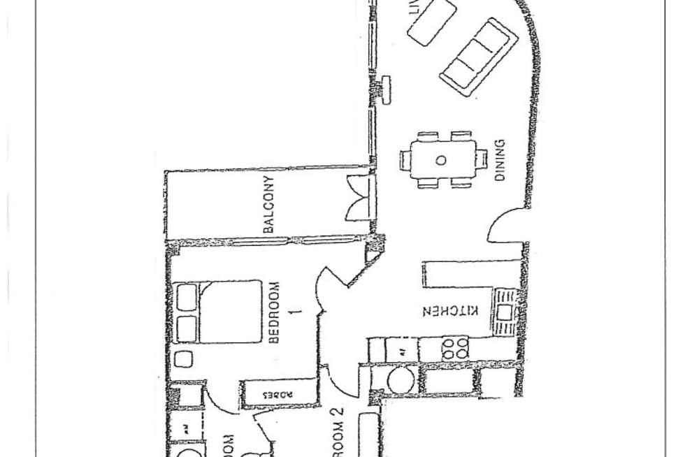 Floorplan of Homely apartment listing, 31/222 Victoria Street, North Melbourne VIC 3051