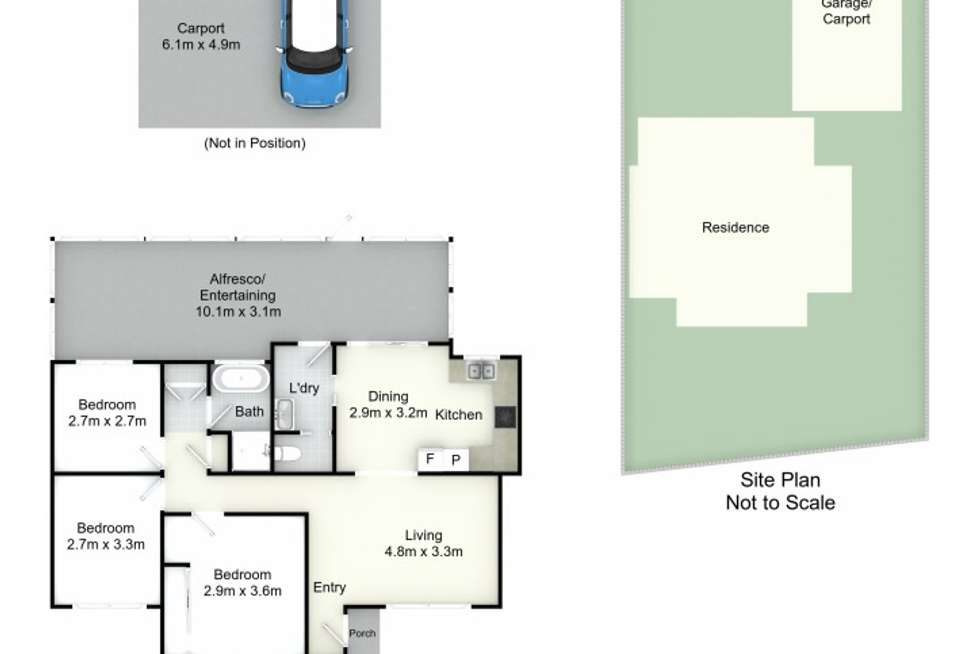 Floorplan of Homely house listing, 8 Osterley Close, Raymond Terrace NSW 2324