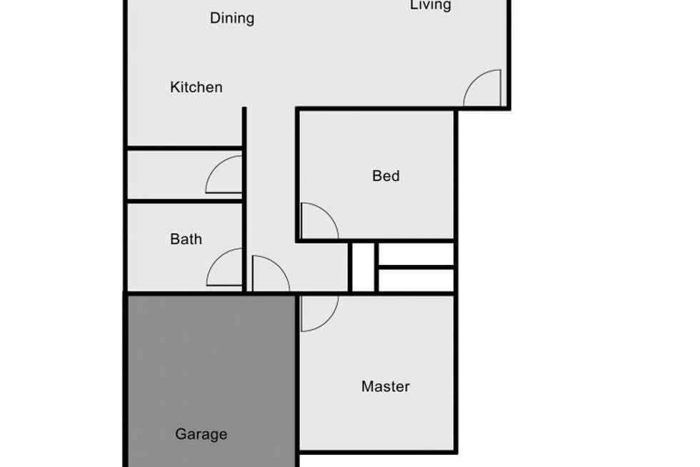 Floorplan of Homely unit listing, 1/10 Eskdale Drive, Raymond Terrace NSW 2324