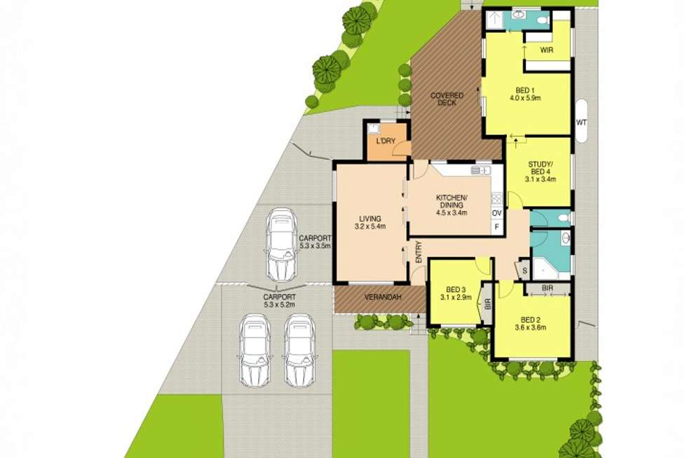 Floorplan of Homely house listing, 34 Peter Parade, Old Toongabbie NSW 2146