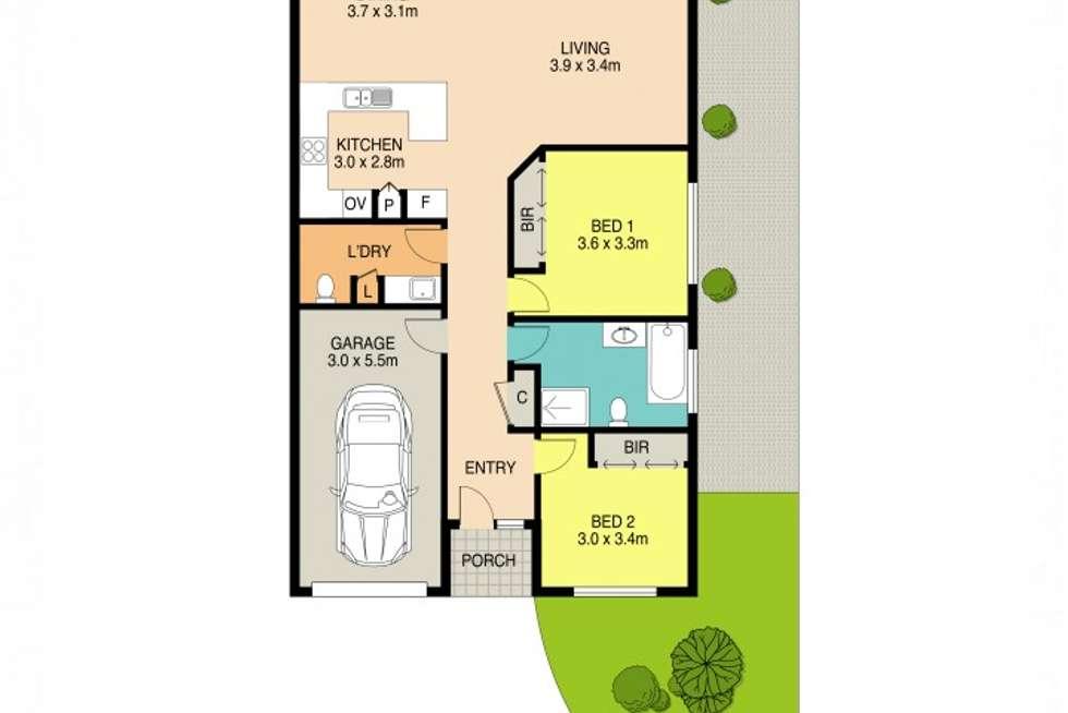 Floorplan of Homely villa listing, 8/209 Old Windsor Road, Northmead NSW 2152