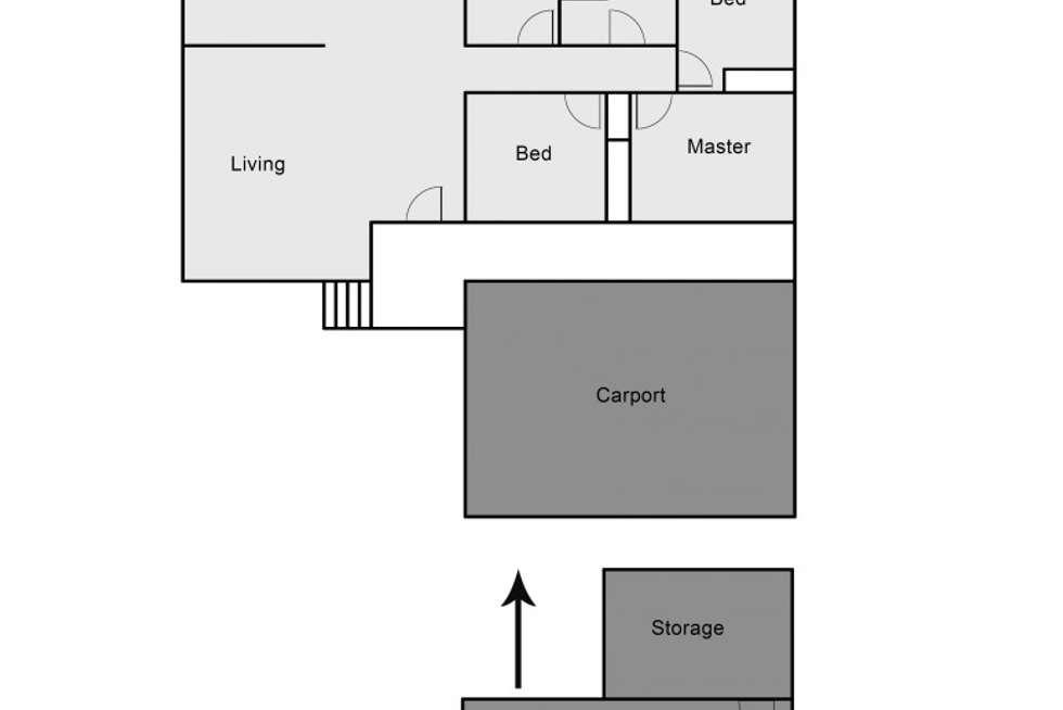 Floorplan of Homely house listing, 2 Henderson Close, Raymond Terrace NSW 2324