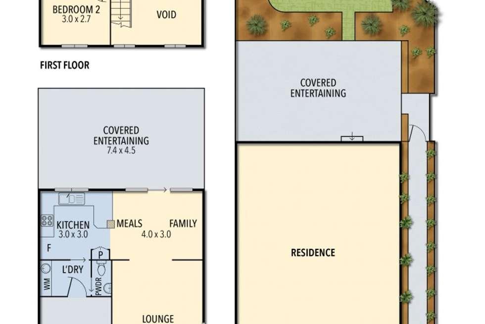 Floorplan of Homely townhouse listing, 9/42 Wandella Avenue, Northmead NSW 2152