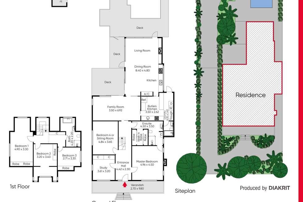 Floorplan of Homely house listing, 15 Heath Street, Sandringham VIC 3191