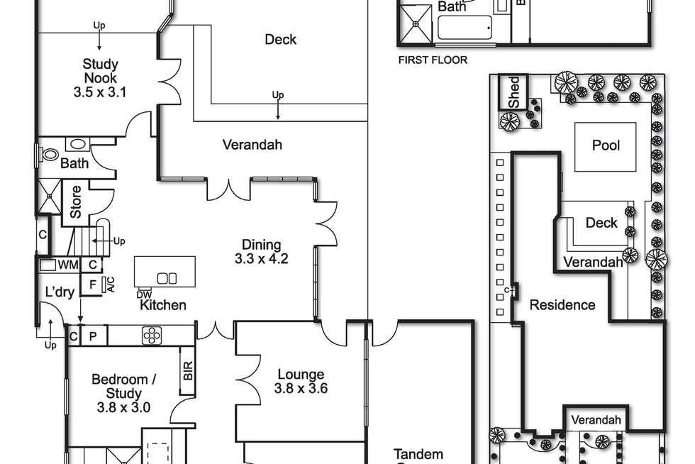 Floorplan of Homely house listing, 139 Thomas Street, Brighton East VIC 3187