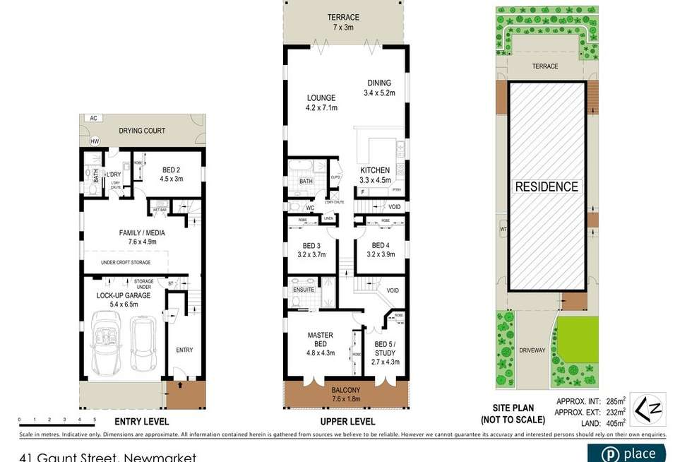 Floorplan of Homely house listing, 41 Gaunt Street, Newmarket QLD 4051