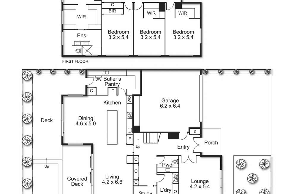 Floorplan of Homely house listing, 3 Leary Avenue, Bentleigh East VIC 3165