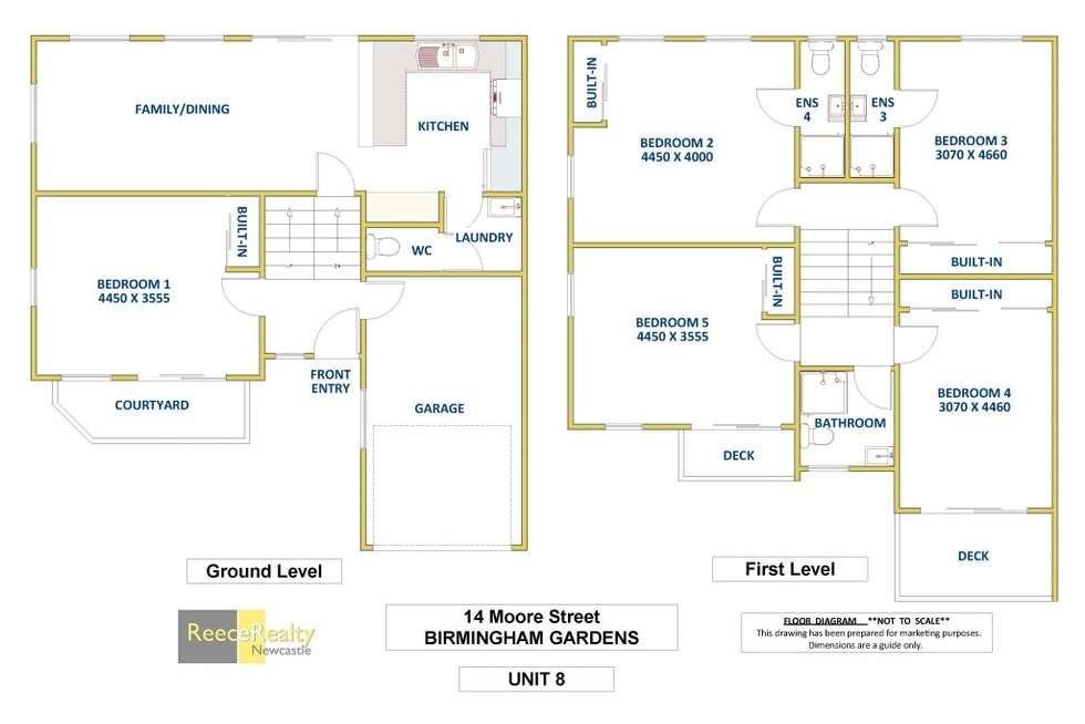 Floorplan of Homely house listing, 6 - 8 14 Moore St, Birmingham Gardens NSW 2287