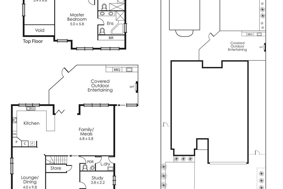 Floorplan of Homely house listing, 29 Sea Parade, Mentone VIC 3194