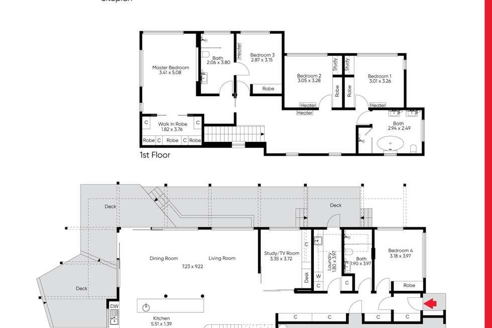 Floorplan of Homely house listing, 497 St Kilda Street, Elwood VIC 3184