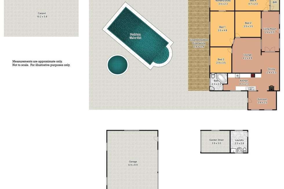 Floorplan of Homely house listing, 135 Devlin Road, Castlereagh NSW 2749