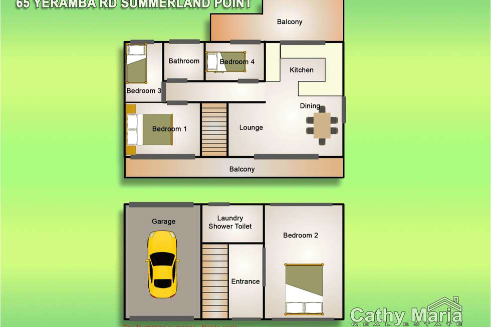 Floorplan of Homely house listing, 65 Yeramba Road, Summerland Point NSW 2259