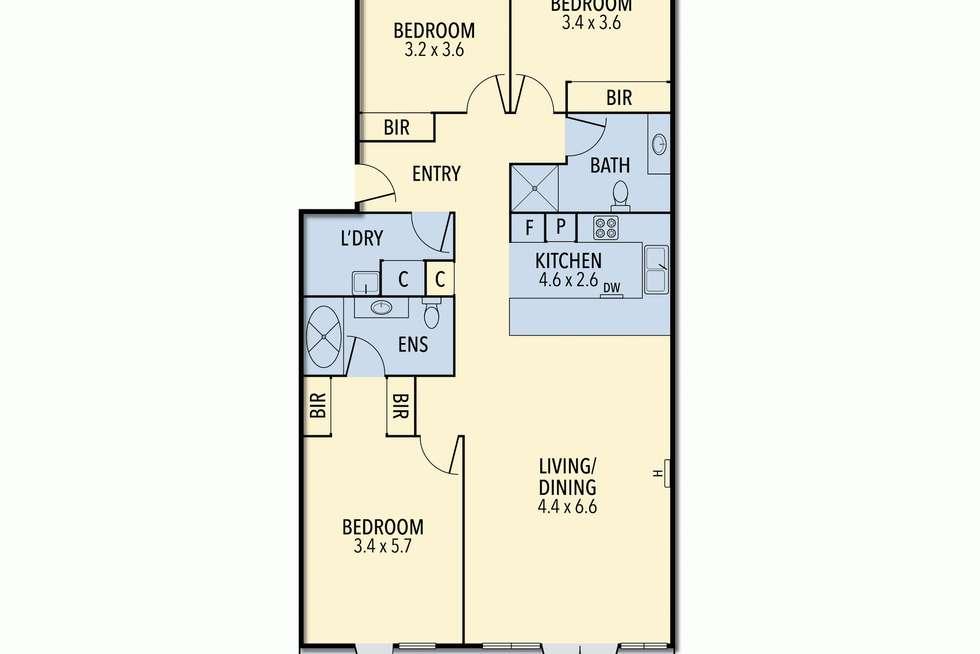 Floorplan of Homely house listing, 18/2-10 Ocean Road South Road, Lorne VIC 3232