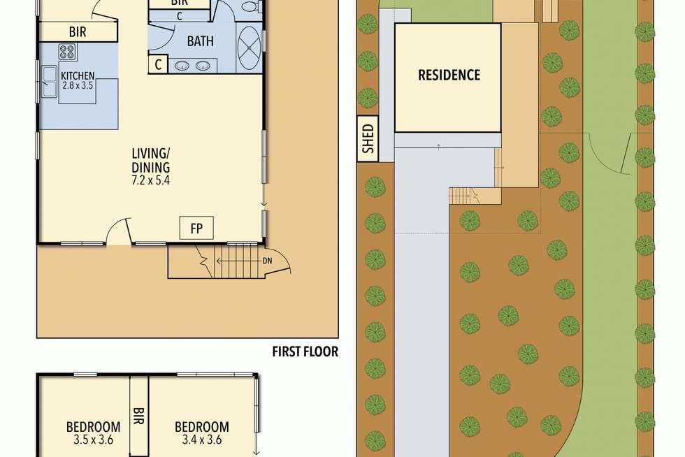 Floorplan of Homely house listing, 20 Hopetoun Terrace, Lorne VIC 3232