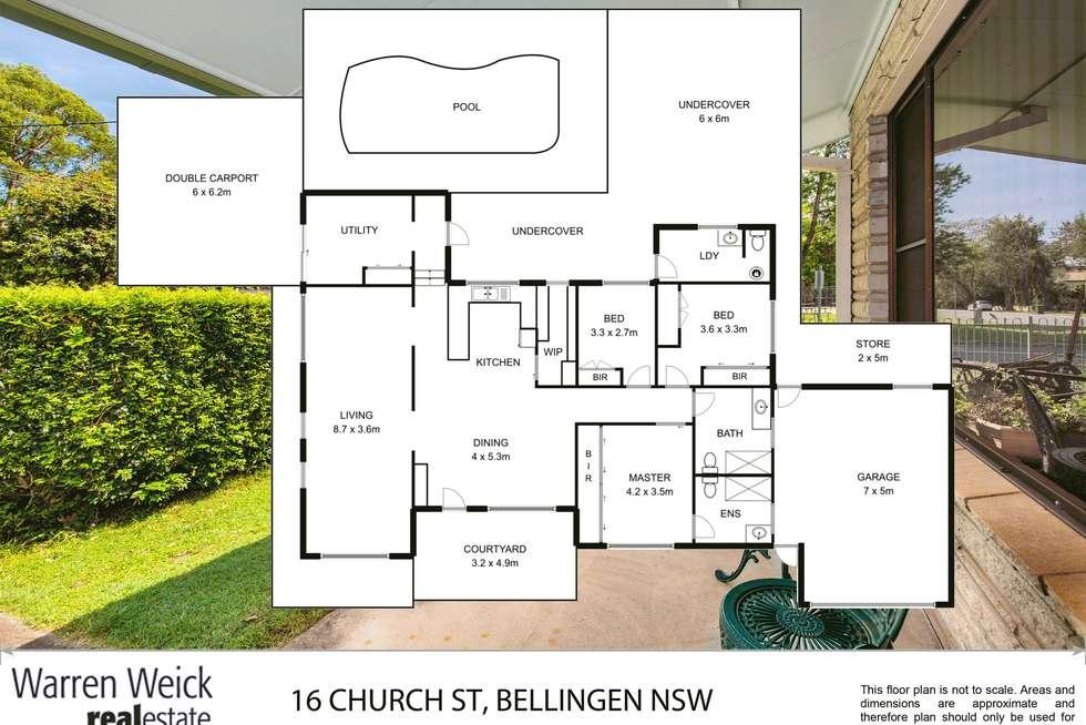 Floorplan of Homely house listing, 16 Church Street, Bellingen NSW 2454