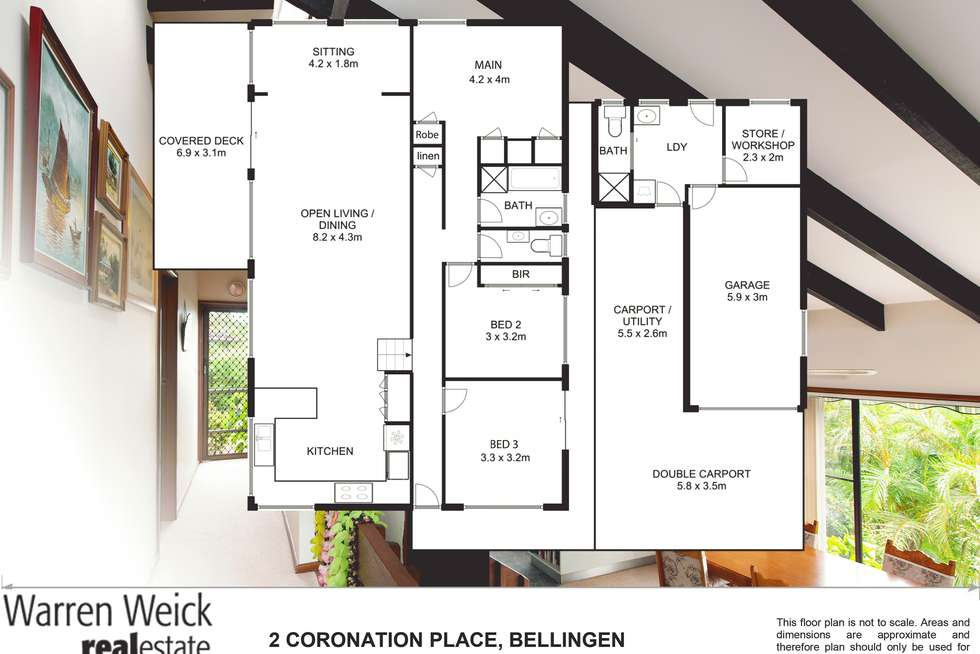Floorplan of Homely house listing, 2 Coronation Place, Bellingen NSW 2454