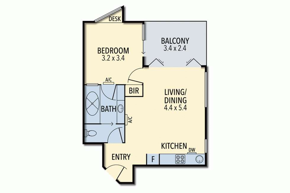 Floorplan of Homely unit listing, 152A/35 Mountjoy  Parade, Lorne VIC 3232