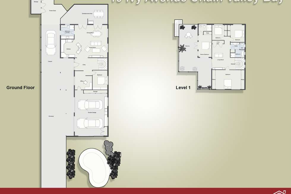Floorplan of Homely house listing, 19 Ivy Avenue, Chain Valley Bay NSW 2259