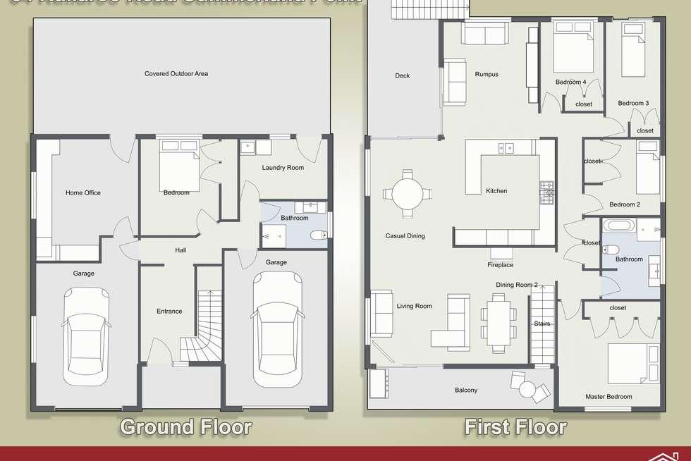 Floorplan of Homely house listing, 84 Kullaroo Road, Summerland Point NSW 2259