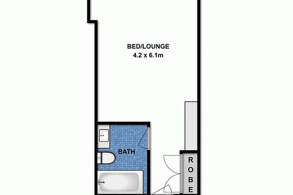 Floorplan of Homely unit listing, 220B/35 Mountjoy Parade, Lorne VIC 3232