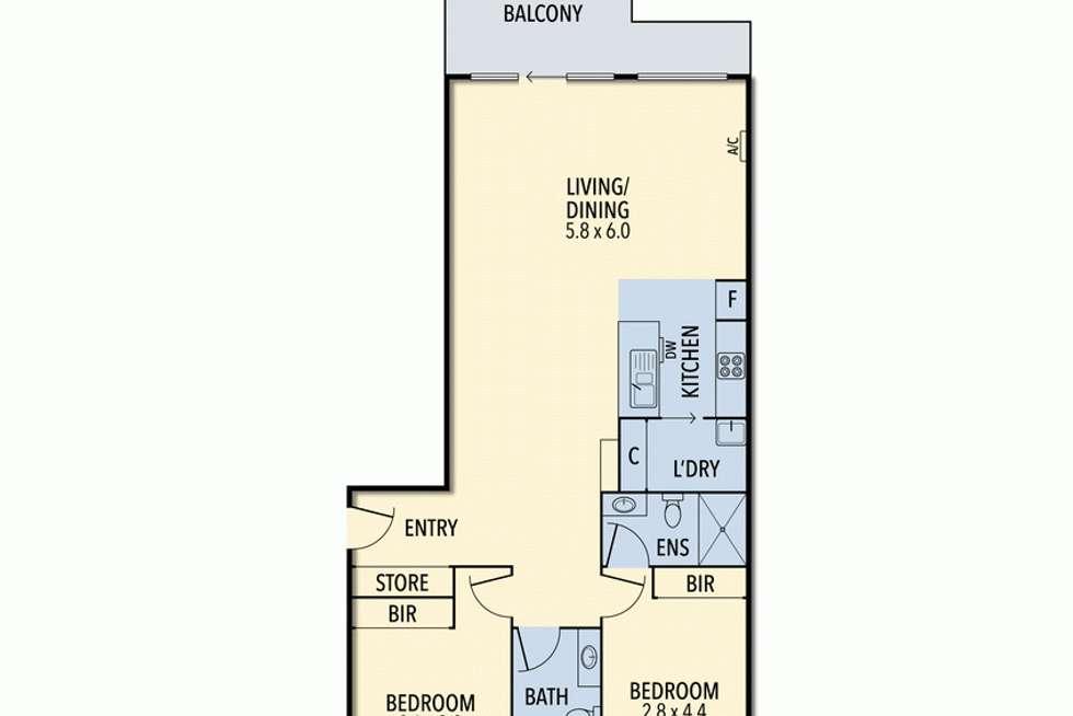 Floorplan of Homely apartment listing, 7/3-9 Armytage  Street, Lorne VIC 3232